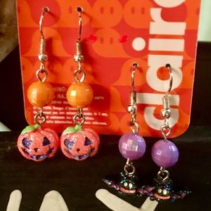 Claire...Brand New Halloween Earrings